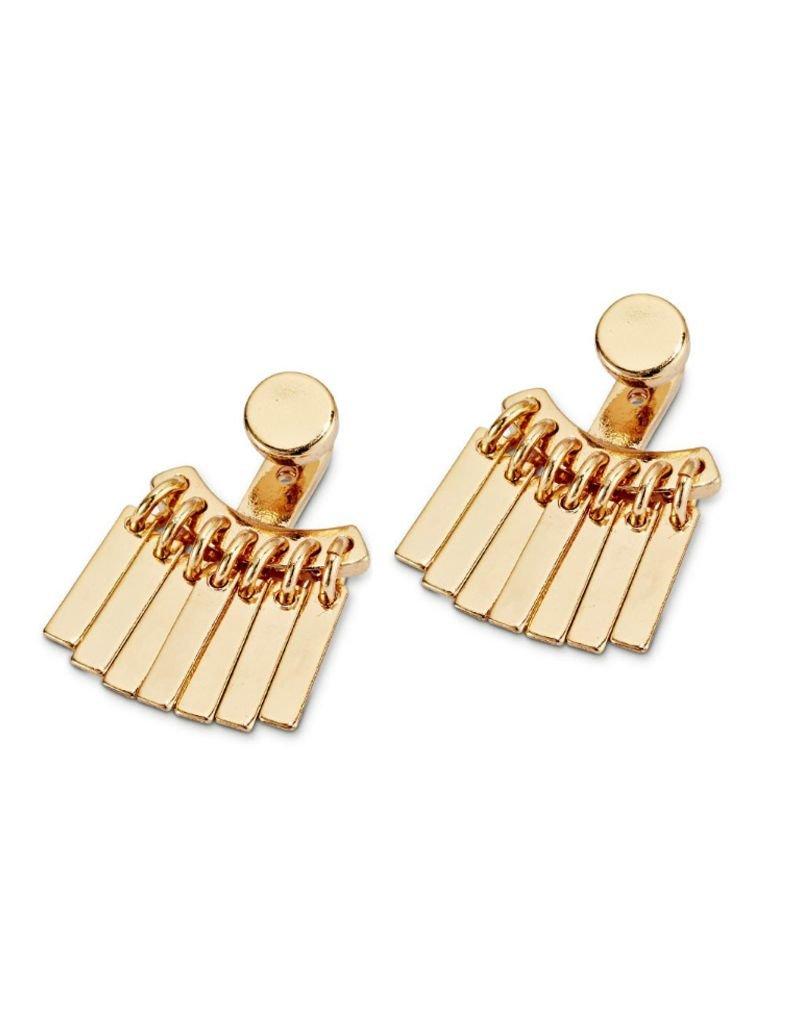 JENNY BIRD JENNY BIRD / Raya Ear Jackets, High Polish Gold