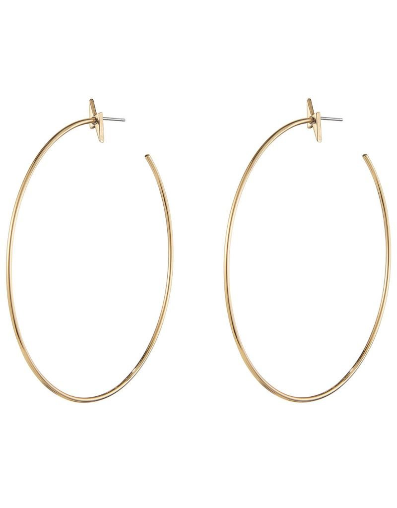 JENNY BIRD JENNY BIRD / Thunderstruck Hoops, Gold High Polished