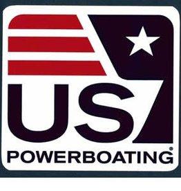 US Powerboating Sticker