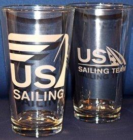 US Sailing Pint Glass
