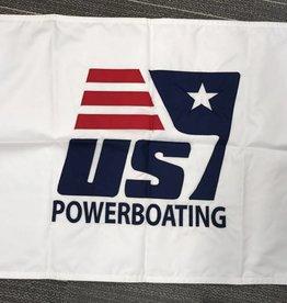 US Sail / Powerboating 12x18 Burgee