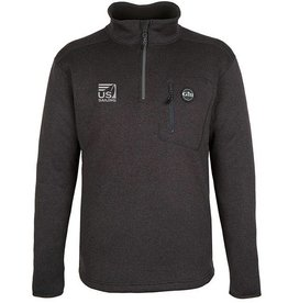 Graphite Knit Fleece