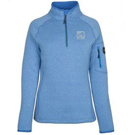 Baby Blue Knit Fleece