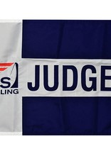 """Judges Flag 18x24"""" Embroidered"""