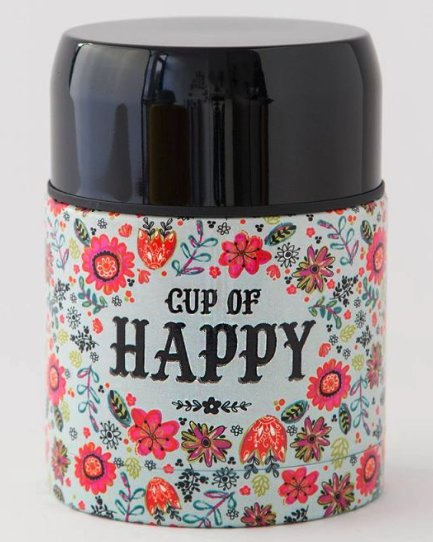 Soup Thermos Cup of Happy