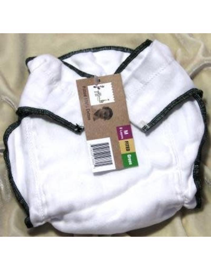 Geffen Baby Geffen Cotton Fitted Diaper
