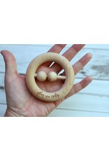 Getting Sew Crafty Getting Sew Crafty Wooden Rattle