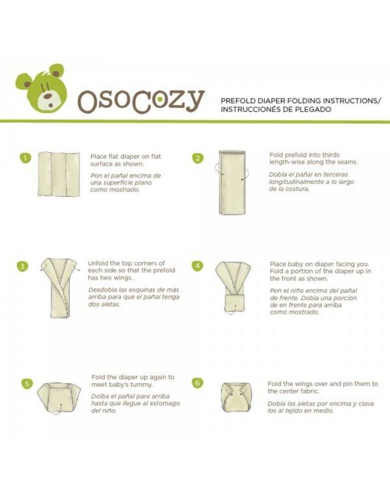 OsoCozy OsoCozy Organic Prefolds