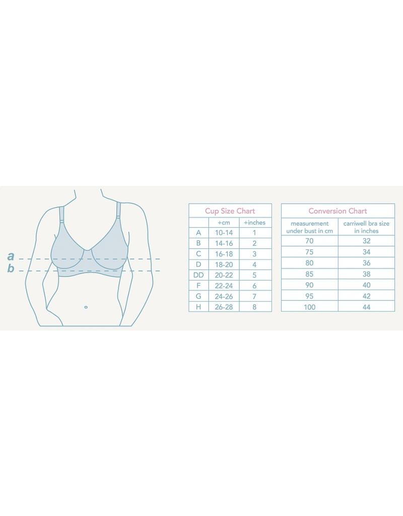 Carriwell Seamless Nursing Bra