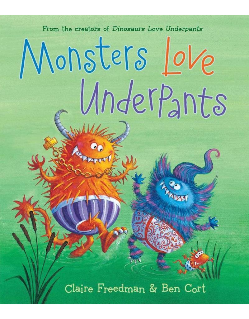 Diaper Lab Monsters Love Underpants