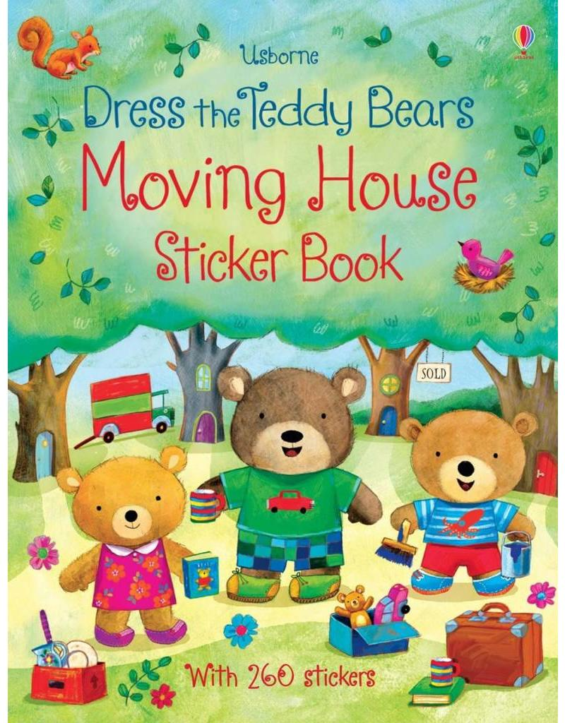 Educational Development Corp Usborne First Experiences - Moving house sticker book