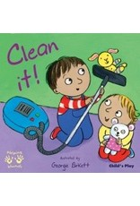 Child's Play Helping Hands Clean it