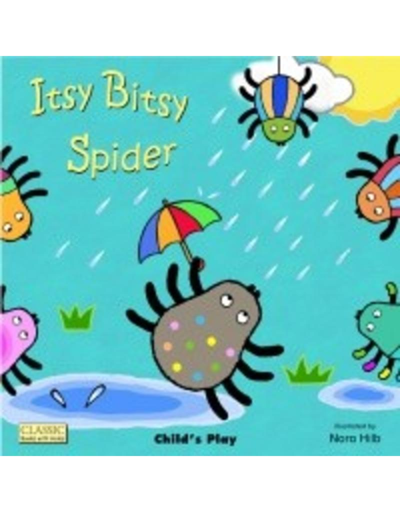 Child's Play Itsy Bitsy Spider (Classic Books With Holes Big Book)