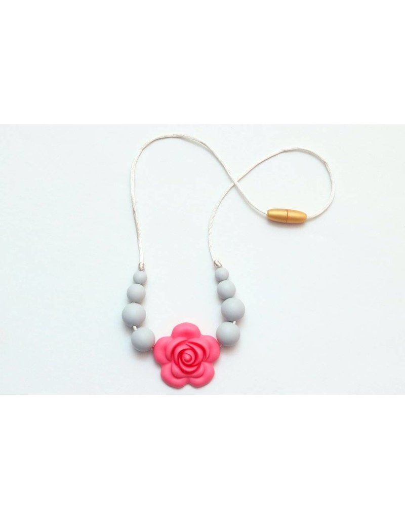 Getting Sew Crafty Silicone Flower Child Necklace