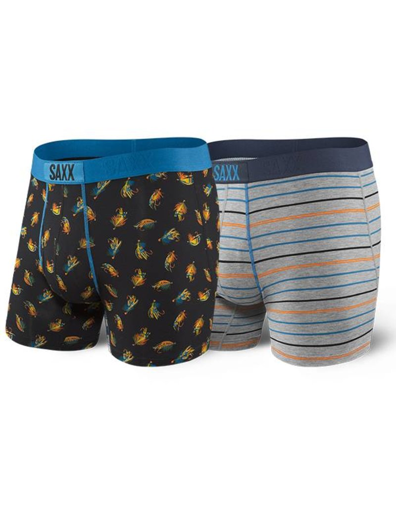 Saxx Saxx Ultra Boxer 2 Pack - Gone Fishing