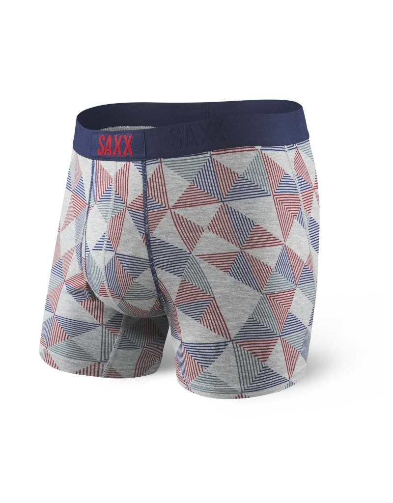 Saxx Saxx Ultra Boxer Fly - Grey Pyramid Check