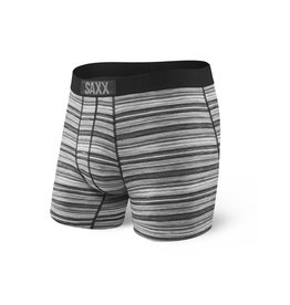 Saxx Saxx Vibe Boxer Modern Fit - Charcoal Heather Stripe