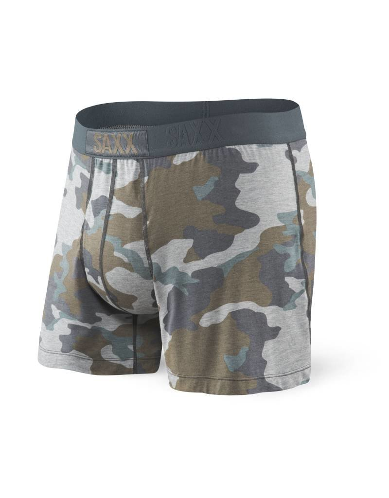 Saxx Saxx Ultra Free Agent Boxer Fly - Grey Supersize Camo