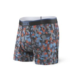 Saxx Saxx Loose Cannon Print Fly - Navy Tile Camo