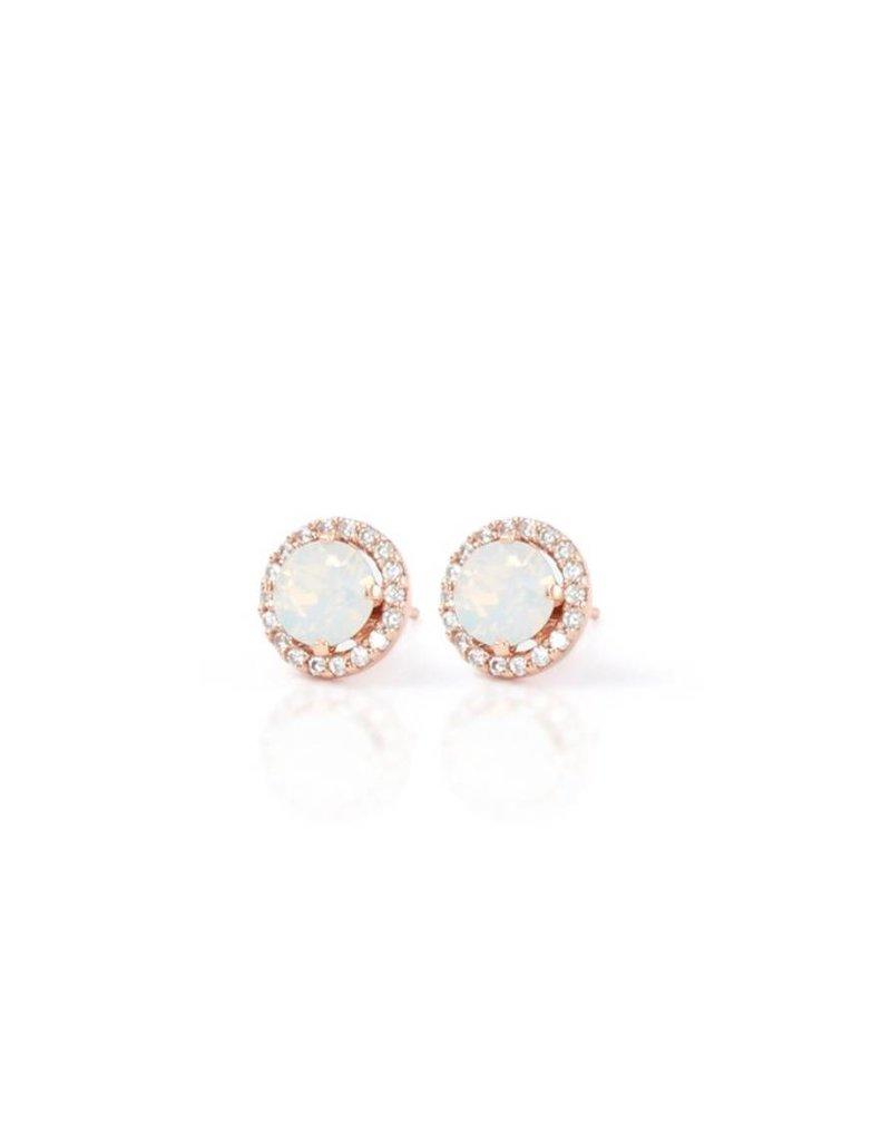 Hillberg & Berk Hillberg and Berk Esme Rose Gold Opal Earrings