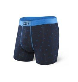 Saxx Saxx Vibe Boxer Brief - Navy Arrow