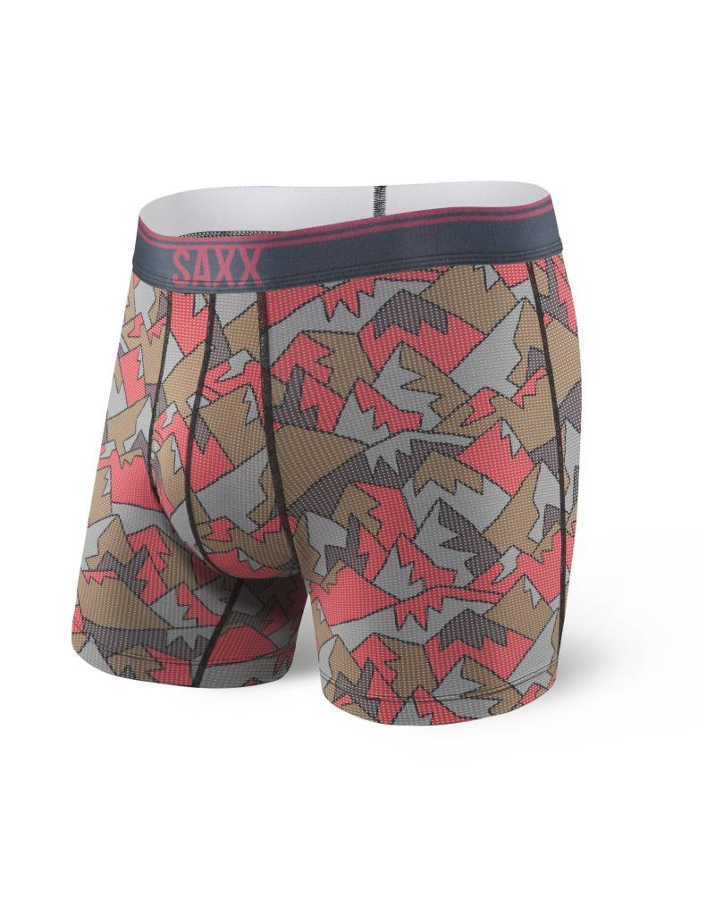 Saxx Saxx Quest Boxer Brief Fly - Red Mountain Top