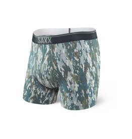 Saxx Saxx Quest Boxer Brief Fly - Bark Camo