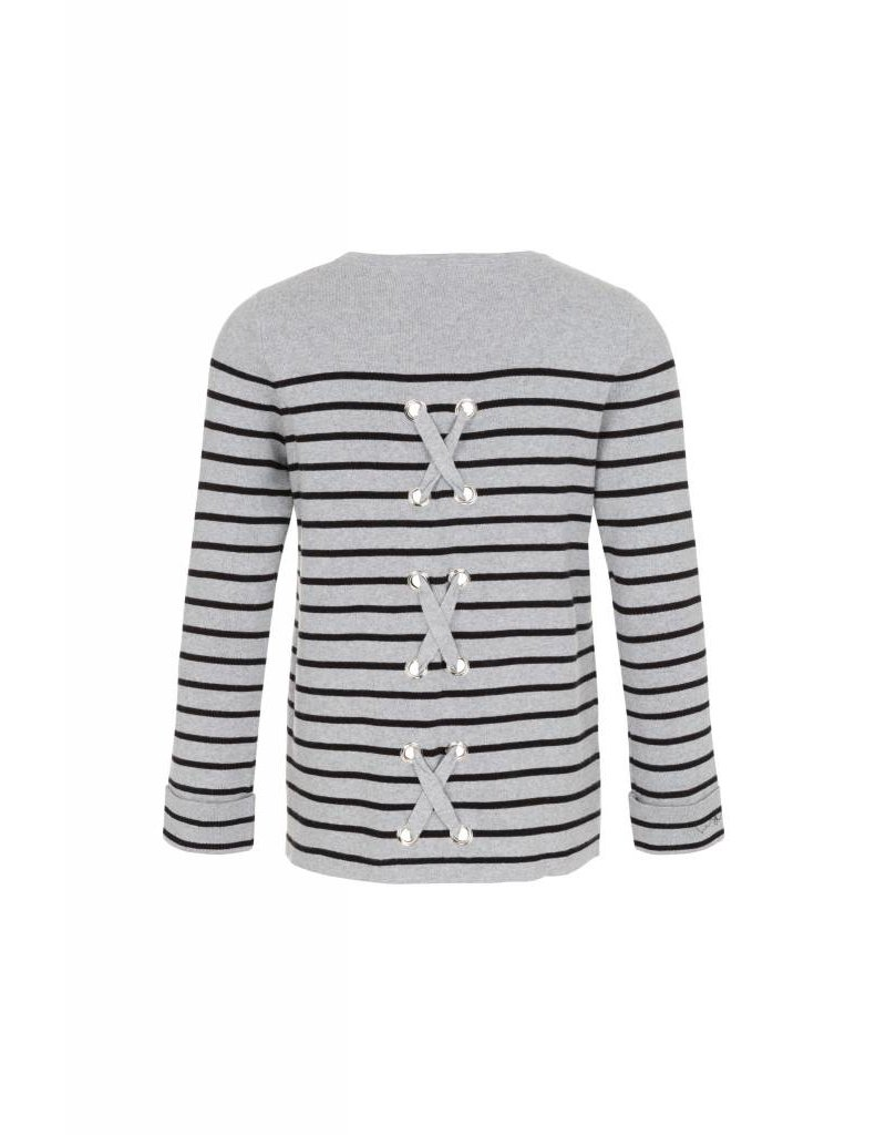 Tribal Tribal Cotton Stripe Sweater