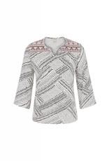 Tribal Tribal Boho Knit Blouse