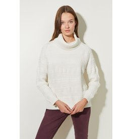 Great Plains Multi Texture LS Roll Neck Jumper
