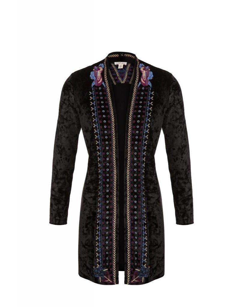 Tribal Tribal Velvet Jacket