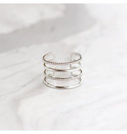 Statement Grey Statement Grey Line Ring