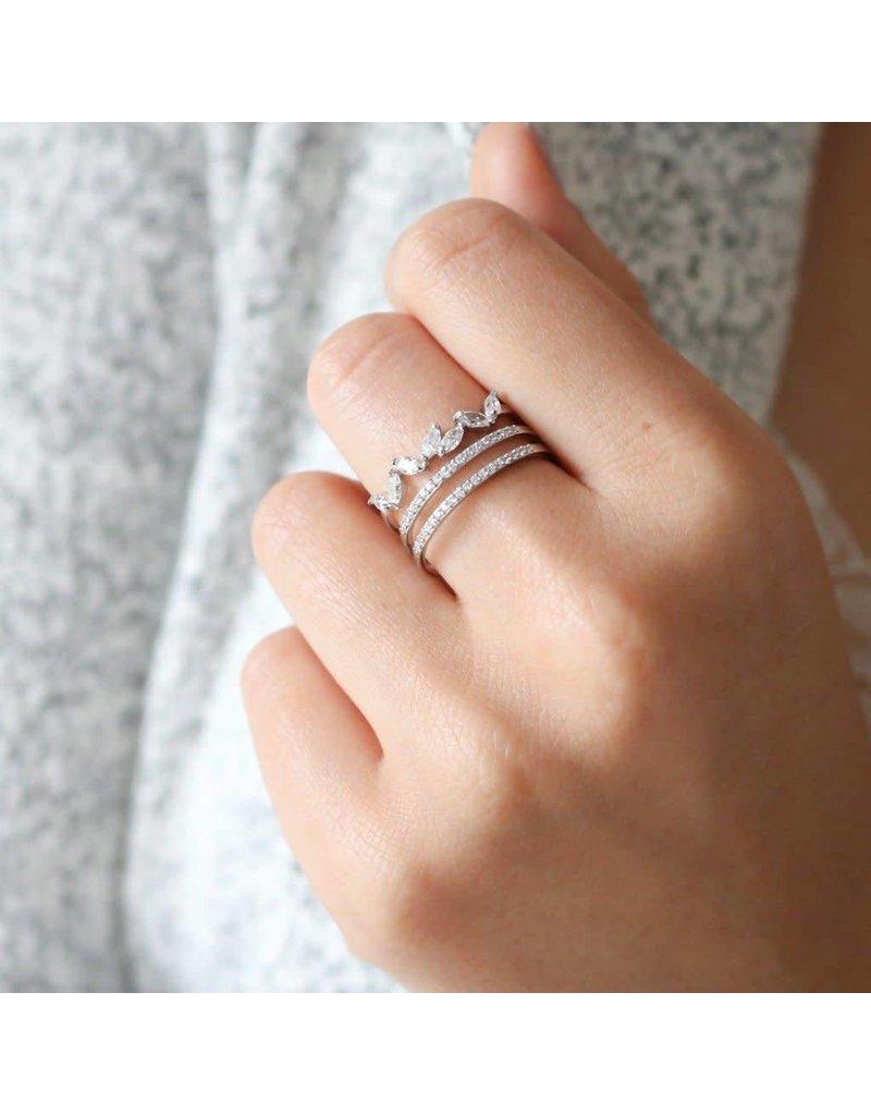 Statement Grey Statement Grey Lueur Ring