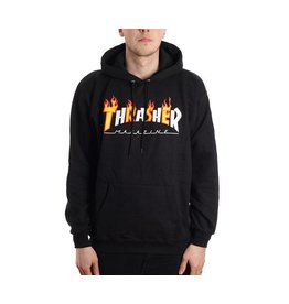 THRASHER THRASHER FLAME&MAG HOODIE