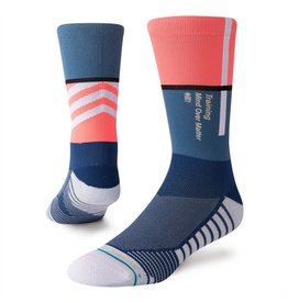 STANCE STANCE MOTTO CREW BLUE SOCK