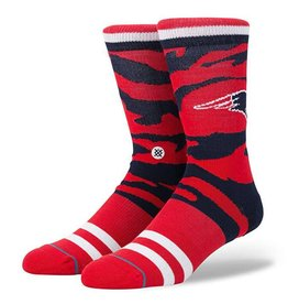 STANCE STANCE MENS PATRIOTS TIGERSTRIPE SOCK RED