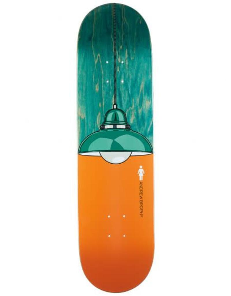 GIRL GIRL ANDREW BROPHY ILLUMINATED DECK 8.37