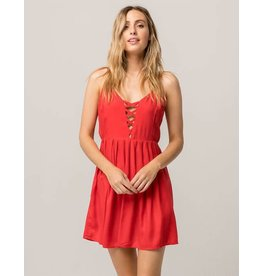 VOLCOM VOLCOM CROSS PATHS DRESS