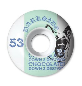 CHOCOLATE Copy of CHOCOLATE DARKSIDE STAPLE WHEEL 53