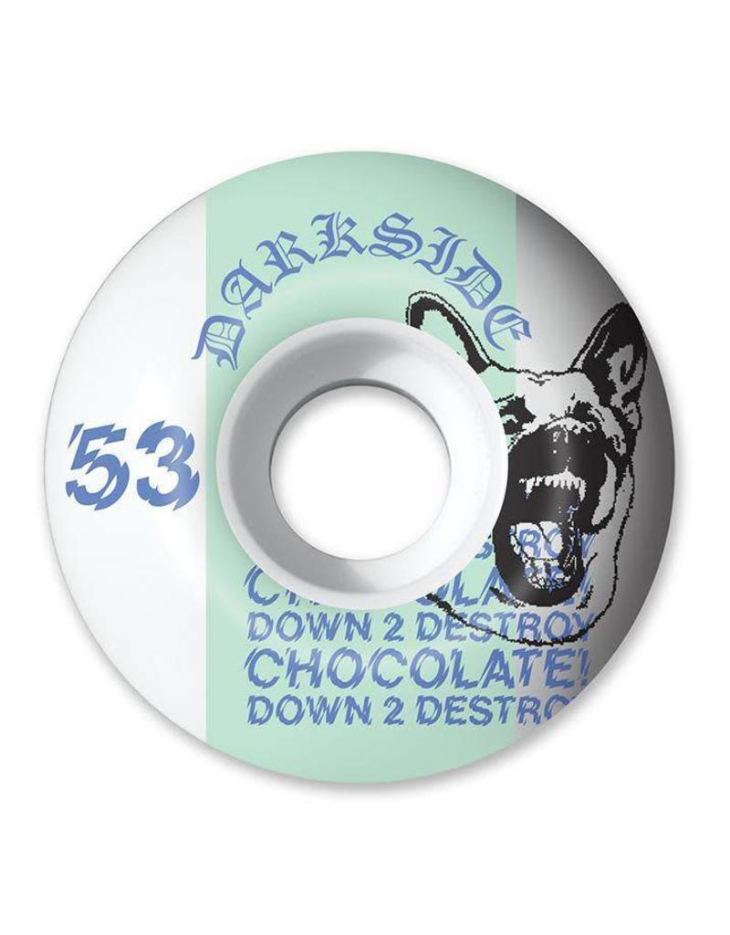 CHOCOLATE Copy of CHOCOLATE DARKSIDE STAPLE WHEEL 53