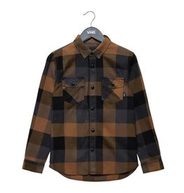 VANS VANS BOX FLANNEL DIRT/BLACK