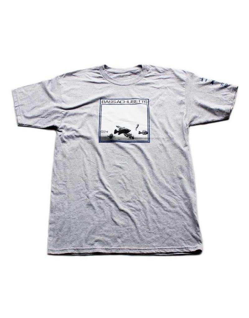 BASSACHUSETTS BASACHUSETTS EXTENDED PLAY TEE GREY