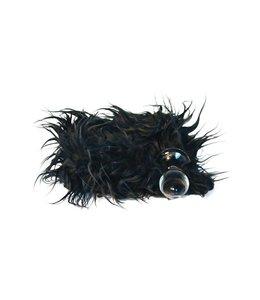 Crystal Delights Minx Tail Plug - Mongolian Black