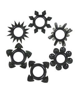 Tower of Power Stretch-To-Fit Cock Rings