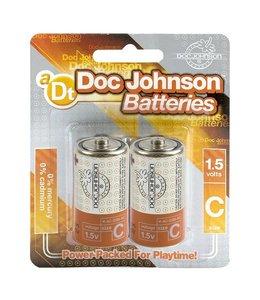 Doc Johnson C Size Battery 2 Pack