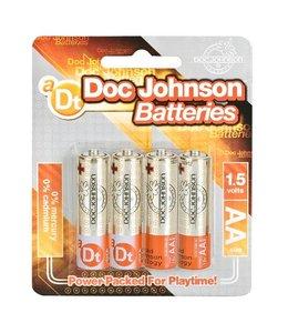 Doc Johnson AA Size Battery 4 Pack