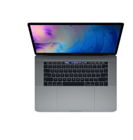Apple 15-inch MacBook Pro with Touch Bar: 2.6GHz 6-core 8th-generation Intel Core i7 processor, 512GB - Space Gray