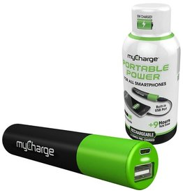 myCharge myCharge | The Energy Shot Rechargeable | 2000 mAh Battery