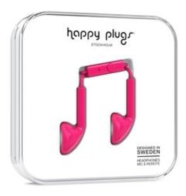 Happy Plugs Happy Plugs | Earbuds | Cerise Pink