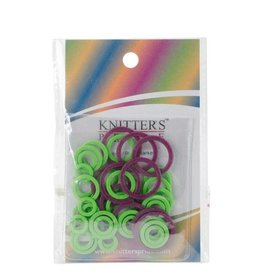 Knitters Pride KP Stitch Ring Markers  (Pack of 10 L / 20 M / 20 S)